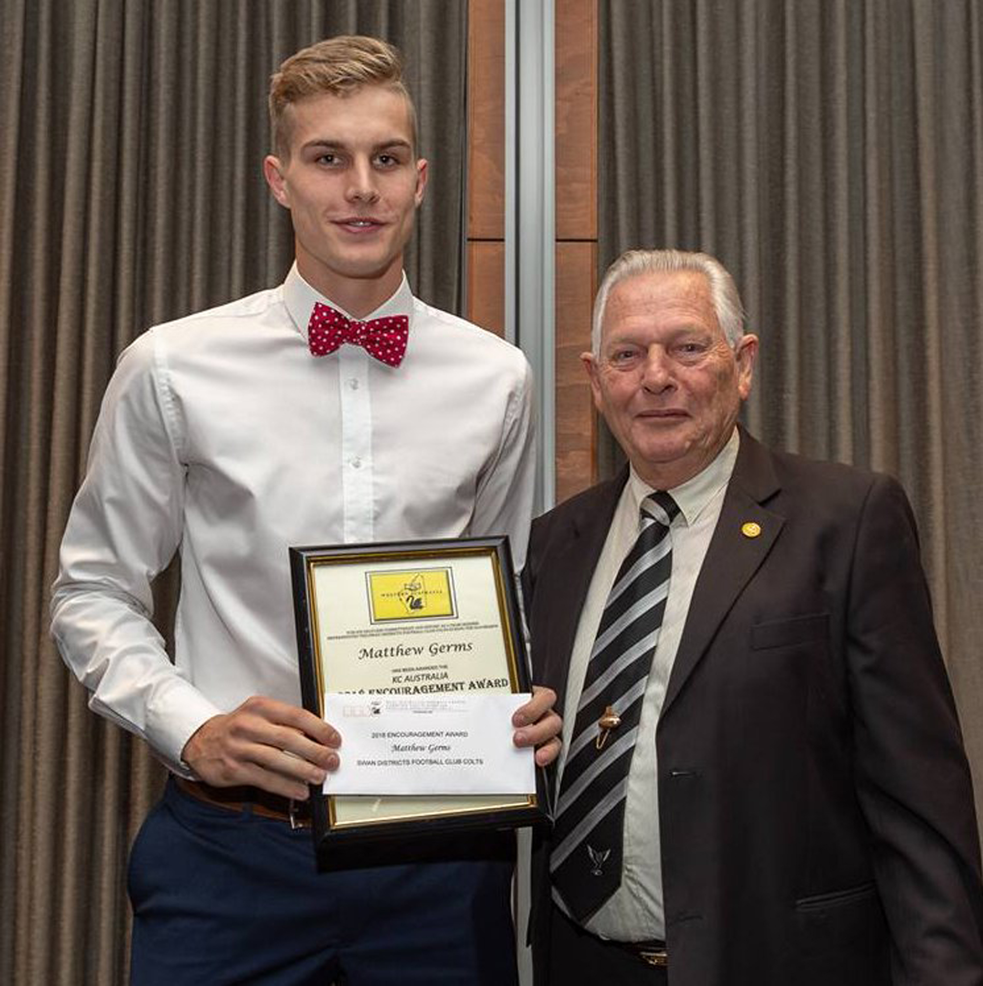 Swans Encouragement Award 2018