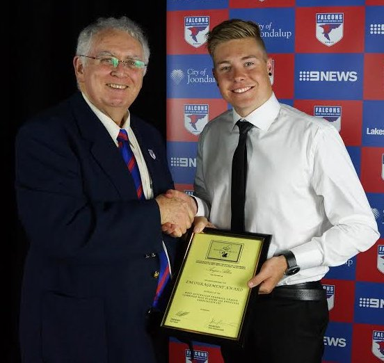 encouragement award angus allen